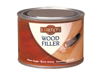 Liberon LIBWFAP25 25ml Wood Filler Tube - Antique - Liberon Wood
