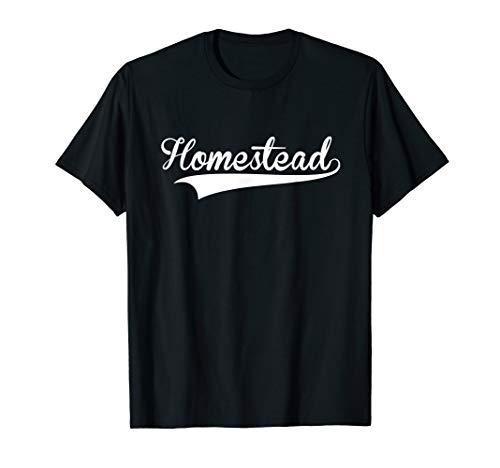 HOMESTEAD Baseball Styled Jersey Tee Shirt Softball -