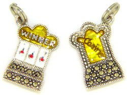 (Judith Jack Casino Slot Machine Charm )
