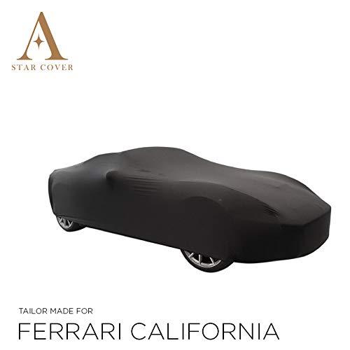 Nero GARAGECOVER Consegna Rapida vestibilit/à Perfetta E Cover su Misura COPRIAUTO da Inferno Compatibile con Ferrari California