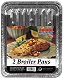 Handi Foil Corporation Eco-Foil Aluminum Broiler Pan 2 Count