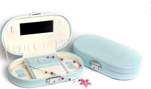 携帯用ロックの宝石箱の化粧品の宝石類の収納箱、225 * 128 * 50cm、赤