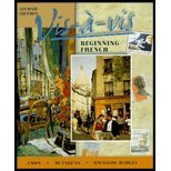 Vis-a-Vis : Beginning French, Amon, Evelyne and Muyskens, Judith A., 0073655120