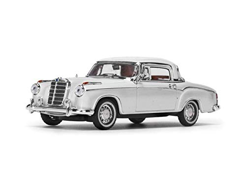 Ivory Coupe - 1958 Mercedes Benz 220 SE Coupe Ivory 1/43 Diecast Model Car by Vitesse 28665