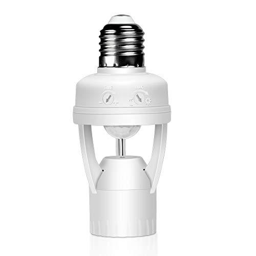 Motion Sensor Adapter For Outdoor Lights