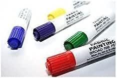 5 DYLON FABRIC PAINTING FINE NIB PENS.