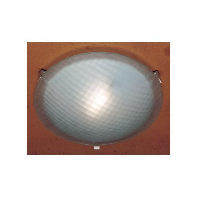 PLC Lighting 22212 BK 1-Light Ceiling Light Contempo Collection