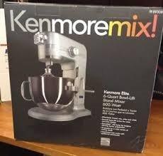 Kenmore Elite 6-quart Bowl-lift 600 Watt Stand Mixer 89308