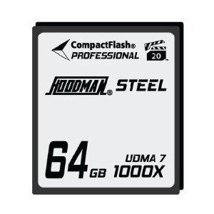 Hoodman Steel 64GB CompactFlash Card 1000X