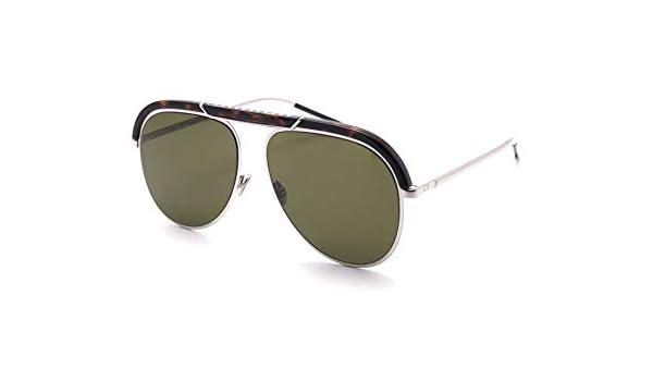 77a9069a40 Amazon.com  Christian Dior DiorDesertic Sunglasses Havana Palladium w Green  Lens 58mm 9G0O7 Dior Desertic  Clothing
