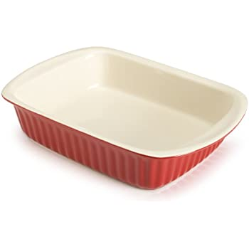 Amazon Com Good Cook 2 5 Quart Rectangle Ceramic Dish