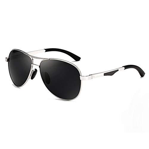 de Personalidad Que sol de Aviador el Vogue Hombres D Gafas UV Polarización Running Conduce los Espejo AS0Pvnaa