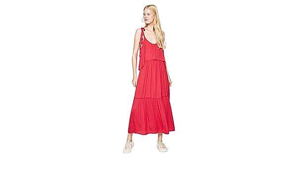 Vestido Pepe Jeans Largo Boho Larisa para Mujer: Amazon.es