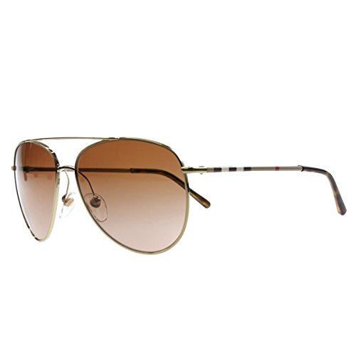 Burberry Women's BE3072 Sunglasses Burberry Gold / Brown Grdient - Ladies Sunglasses Burberry