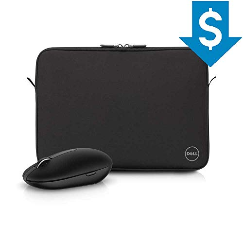 "Combo Capa para Notebook Dell 15,6"" em Neoprene Preto + Mouse Wireless WM326"
