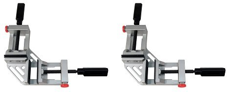 wolfcraft 3415405 Quick-Jaw Right Angle 90 Degree Corner Clamp (2-(Pack)) by Wolfcraft