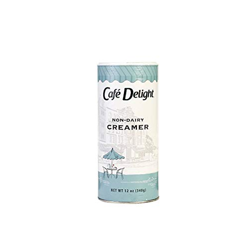 Cafe Delight Non-Dairy Creamer Canisters, 12 Ounce -- 24 per case. by Diamond Collection (Image #1)
