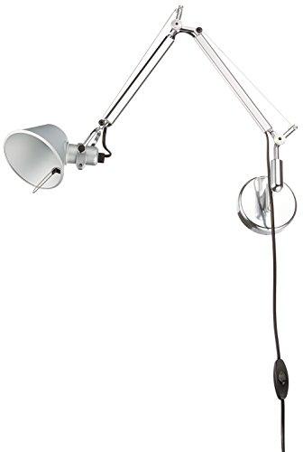 Artemide Tolomeo Micro Parete, wandlamp aluminium