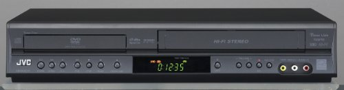 JVC HRXVC11B Progressive Scan DVD Player and VCR Combo