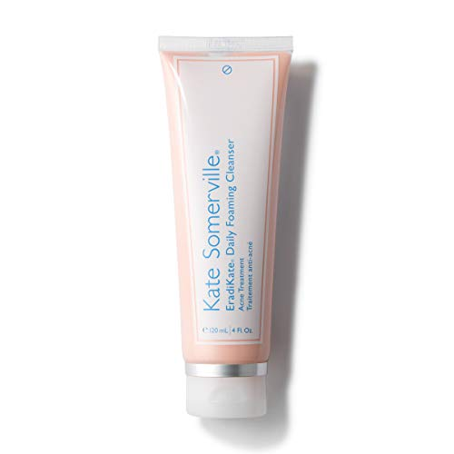 Kate Somerville EradiKate Daily Foaming Cleanser – Acne Face Wash for Visibly Clearer Skin 4 Fl. Oz.