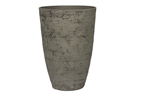 Stone Light Antique AS Series Cast Stone Planter, 17 by 24