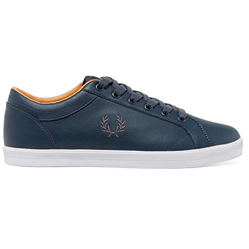 Leather Baseline Spencer Kingston Perry Hombre Zapatillas Baseline Navy Deportivas Para Underspin Tenis Fred 7anv4q4