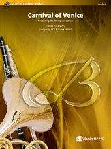 Carnival of Venice - Featuring the Trumpet Section - Italian Folk Song / arr. Jack Bullock - Conductor Score & Parts
