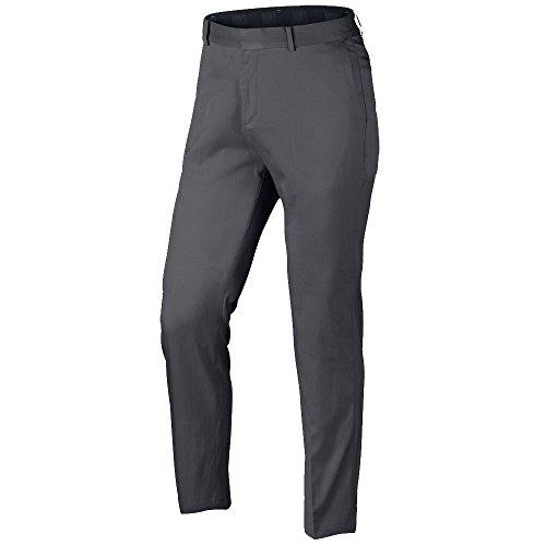 NIKE Men's Flat Front Golf Pants, Dark Grey/Dark Grey, Size 38/30