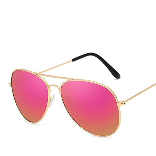 Vintage Pilot Women Sunglasses Metal Glasses Street Beat Shopping Mirror Classic Oculos ()