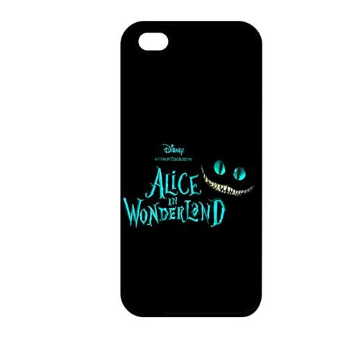 Coque,Protective Shell Cover Cute Coque iphone SE & Coque iphone 5 & Coque iphone 5S Case Cover Cover Casing(Alice in Wonderland Quotes)