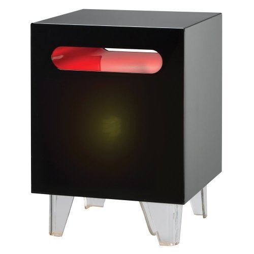 Adesso Nebula Light Table - Adesso Glass End Table