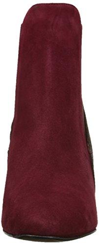 Studio Paloma 19630 - Botas de terciopelo mujer Rojo - Rouge (Ante Vino Ranger Buerdos)