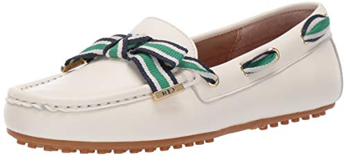 Lauren Ralph Lauren Women's Becka Driving Style Loafer Artist Cream 6 B US