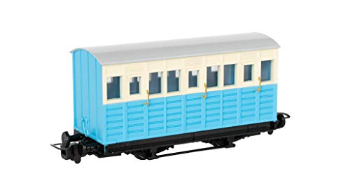 Thomas & Friends Narrow Gauge Blue Carriage - Runs on N Scale Track from Bachmann Trains