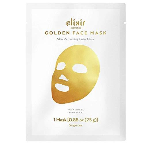 Korean 24K Gold Moisturizing Face Mask – Instant Brightening & Anti-Aging Wrinkle Treatment – Collagen Deep Hydrating…