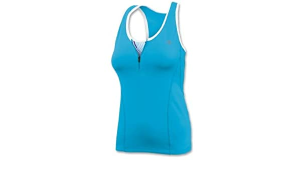 9b9e2ae5ad Champion Double Dry® 1 4-Zip Workout Tank Top with Built-In Medium-Support  Bra