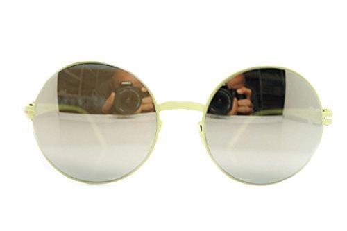 Mykita Sunglasses Frame New Patented Germany Round Mod.Janis F63 Sulfury 55 - Sunglasses Round Frame Mykita