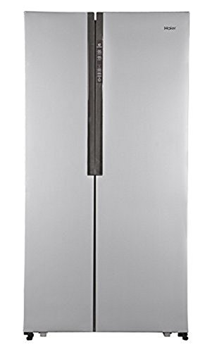 Haier HRF 618 SS Frost-free Side-by-Side Refrigerator (565 Ltrs, Stainless Steel)