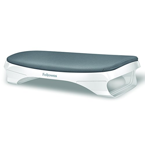 Fellowes I-Spire Series Foot Cushion/Rest, White/Gray (9311701) by Fellowes (Image #7)