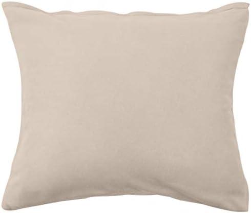 E E-NICES Parure de lit en polaire Beige 140 × 220/60 × 70 cm