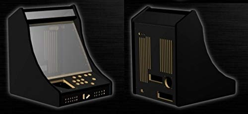 Ultimate Bartop Arcade Game Cabinet Ready to Assemble Cabinet Kit, Jamma and Mame Ready ()