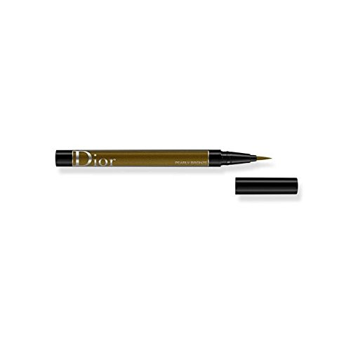 (Christian Dior Diorshow On Stage Liquid Eyeliner 466 Pearly Bronze for Women, 0.01 Ounce)