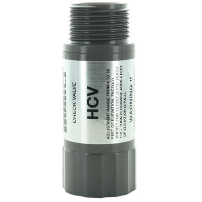 Hunter Sprinkler HC75F75M HCV 3/4-Inch Female Inlet by 3/4-Inch Male Outlet Check Valve ()