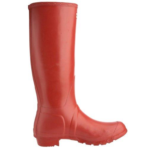 Hunter Original Tall Damen Langschaft Stiefel Rot (Rot)