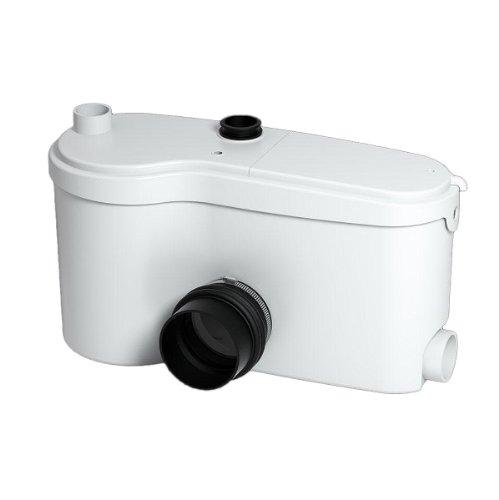 Saniflo 014 SANIGRIND Grinder Pump for Bottom Outlet Toilets, White by Saniflo