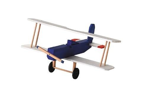 Darice 9169-08 Wood BI Plane Model Kit - Model Plane