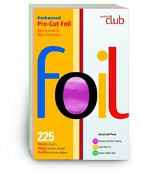 (Product Club Embossed Pre-Cut Foil 5