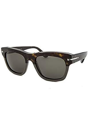 77f78a706b1 Valentino V703S-245 Mens Dark Havana Grey V703S Sunglasses at Amazon Men s  Clothing store