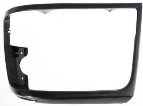Ford Assembly Headlight F53 (CPP Black Single Headlight Door for Ford Bronco, F Super Duty, F-Series, F53, F59)