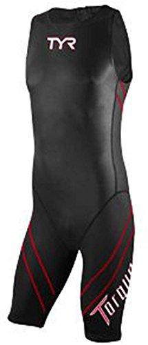 TYR Torque Pro Shortjohn Wetsuit: Black - Triatlon Wetsuit